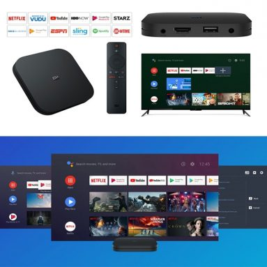 €54 with coupon for Xiaomi Mi TV Box S IPTV Set top Box Media Player European Version from GEARBEST