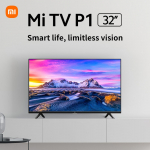 """€199 with coupon for Mi TV P1 32"""" HD Limitless Display Android TV Bluetooth Voice Control Google Assistant Built-in Screen Casting 3D Sound from EU warehouse GSHOPPER"""