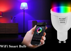 $11 with coupon for MiLight WiFi LED Spot Bulb – RGBW RGB + Warm White from GEARBEST