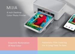 $ 105 sa kupon para sa Mijia 6 inch Desktop Color Photo Printer mula sa GearBest