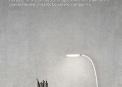 $23 with coupon for Mijia COOWOO U1 Intelligent LED Desk Lamp from Xiaomi Youpin EU warehouse from GearBest