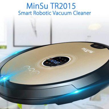 $ 87 flashsale pro MinSu TR2015 Robotická vysavač - EU PLUG CHAMPAGNE od GearBest
