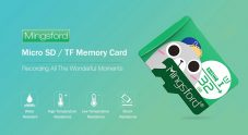 $4 with coupon for Mingsford 8G / 16G / 64G / 128G High Speed Micro SD / TF Storage Card – GREEN 32GB from GearBest