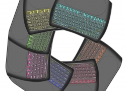 €11 with coupon for Mini I8 D8-S Silk screen Version wireless 2.4GHz keyboard MX3 Air Mouse from BANGGOOD