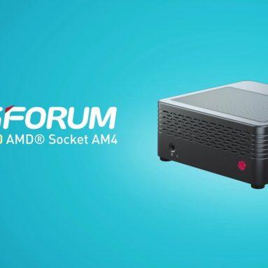 € 647 com cupom para Minisforum EliteMini X400 16GB / 512GB Ryzen5 Pro 4650G Mini PC Radeon Graphics 1900 MHz Windows 10 Pro Wifi 6 Gigabit LAN Bluetooth 5.1 HDMI 2.0 do armazém EU DE da GEEKBUYING