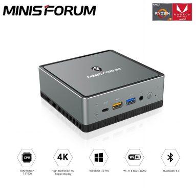 € 386 com cupom para Minisforum UM250 MINI PC 16GB / 512GB AMD Ryzen5 2500U Mini PC Windows 10 Pro Radeon Vega 8 Graphics da UE GER warehouse GEEKBUYING