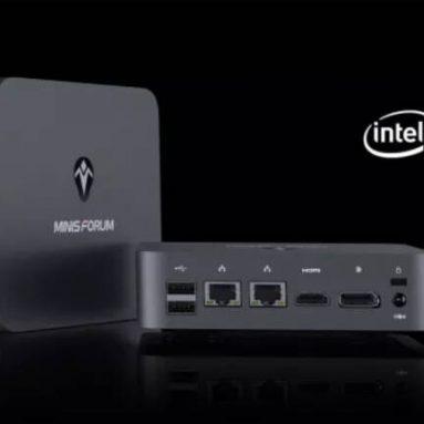 € 336 com cupom para Minisforum X35G MINI PC Windows 10 16 GB DDR4 512 GB SSD Intel Ice Lake Core i3-1005G1 WIFI 6 Bluetooth5.1 Thunderbolt3 HDMI DP RJ45 do armazém EU GER GEEKBUYING