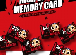 $4 with coupon for Mixza Year of the Dog Limited Edition U1 32GB TF Memory Card from BANGGOOD