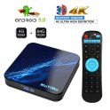$29 with coupon for MoYiMo M5 TV BOX 4GB RAM 64GB ROM Rockchip-RK3318 Quad-core Android 9.0 from GEARVITA