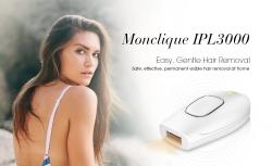 Monclique IPL59 IPL Saç Temizleme Cihazı için kuplajlı $ 3000 GearBest'ten Uzun ömürlü Pürüzsüz Ciltler için Işık Bazlı Sökücü