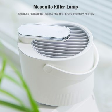 $13 with coupon for Mosquito Repellent Photocatalyst Insect Killer Lamp – Black from GEARBEST