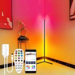 € 39 с купоном на Многоцветный умный торшер Атмосферная лампа Управление приложением Режим DIY с таймером синхронизации музыки Fuction Гостиная Спальня Атмосферный свет Угловой RGB-напольный светильник Dream Color Light Strip для украшения комнаты от BANGGOOD