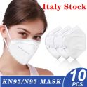 €42 with coupon for 10 PCS N95 Mask 5-Layer Respirator for Dust Pollution Protection Medical Surgical Mask – EU Italy / UK / FR / DE /USA / ESP warehouses from GEARBEST