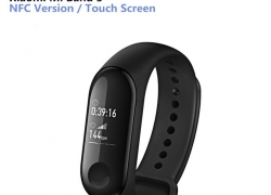 $29 with coupon for Xiaomi Mi Band 3 Smart Bracelet with NFC Function from GEARBEST