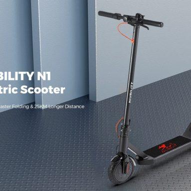 € 228 với phiếu giảm giá cho Xe điện gấp hai bánh Niubility N1 8.5 inch từ TOMTOP EU GERMANY
