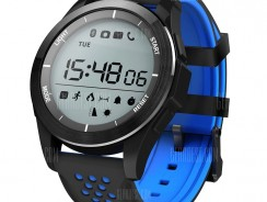 $12 with coupon for NO.1 F3 Sports Smartwatch from GearBest