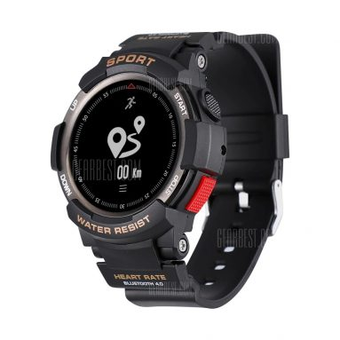 $28 with coupon for NO.1 F6 Smartwatch from GearBest
