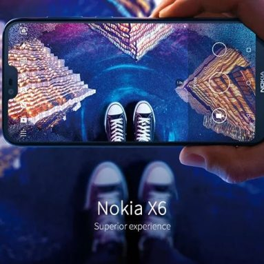 €124 with coupon for NOKIA X6 4G Smartphone 4GB RAM 64GB ROM International Version from GEARVITA