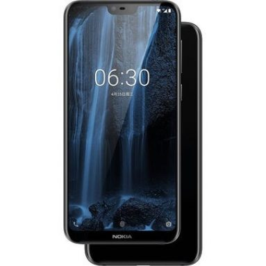 115 يورو مع قسيمة لـ NOKIA X6 5.8 بوصة 19: 9 FHD Face Unlock Android 8.0 4GB 64GB EU ES WAREHOUSE من Banggood