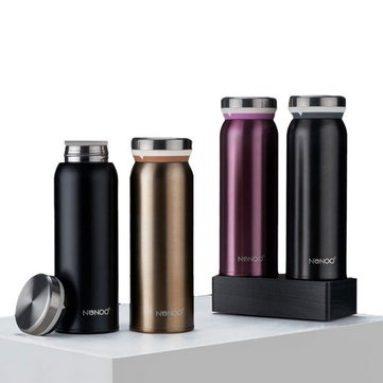 € 19 avec coupon pour NONOO M. M. Bouteille isotherme isotherme pour bouteille thermos avec bouteille thermos 450ML de Xiaomi Youpin de BANGGOOD
