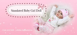 €34 with coupon for NPK Adorable Simulation Lifelike Newborn Silicone Baby Doll from Gearbest
