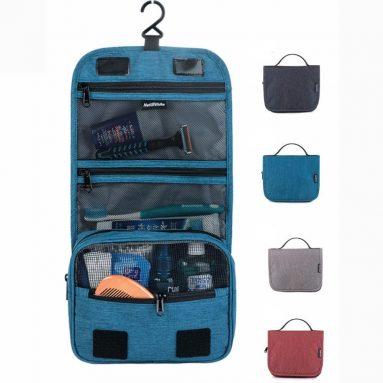 $ 7 नेचरहाइक के लिए कूपन के साथ 17X001-S यात्रा पनरोक शौचालय वॉश बैग हैंगिंग मेकअप कॉस्मेटिक बैग भंडारण पैक BANGGOOD से