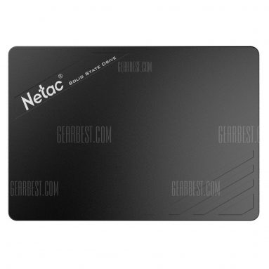 $44 with coupon for Netac N530S 120GB Solid State Drive – 120GB BLACK from Gearbest