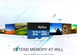 $4 with coupon for Netac P500 Micro SD Card 32GB from GearBest