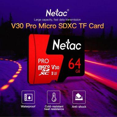 $ 7 με κουπόνι για Netac P500 PRO TF Κάρτα 64GB - FERRARI RED 64G από BANGGOOD
