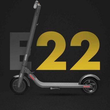 € 327 com cupom para Ninebot E22 Scooter Elétrica Dobrável do armazém da UE GEEKBUYING