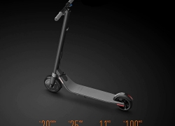€299 with coupon for Ninebot Segway ES1 No. 9 Folding Electric Scooter from Xiaomi Mijia – BLACK EU warehouse from GearBest