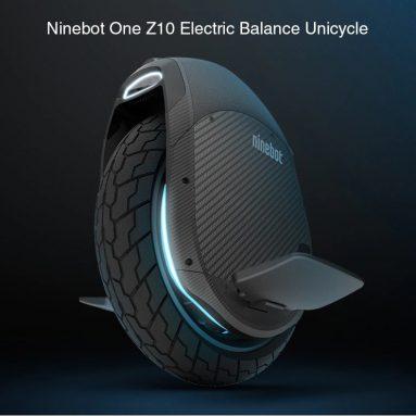€ 855 với phiếu giảm giá cho xe đạp cân bằng điện Ninebot One Z10 từ Xiaomi Mijia từ GearBest