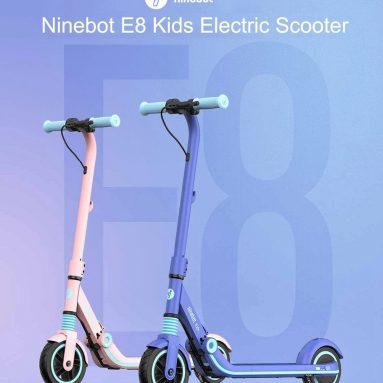 € 214 з купоном на складний електричний скутер Ninebot Segway Kickscooter Zing E8 зі складу ЄС GEEKBUYING