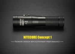 $48 with coupon for Nitecore C1 Portable 1800lm Waterproof LED Flashlight from GearBest