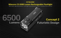 $ 142 z kuponem na Nitecore C2 6500 Lumen Rechargeable Flashlight od GearBest