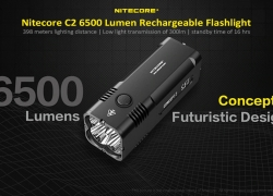 $142 with coupon for Nitecore C2 6500 Lumen Rechargeable Flashlight from GearBest