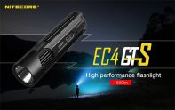 €62 with coupon for Nitecore EC4GTS Portable Super Bright LED Flashlight from GEARBEST