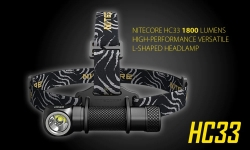 $49 with coupon for Nitecore HC33 High-performance Versatile L-shaped Headlamp from GEARBEST