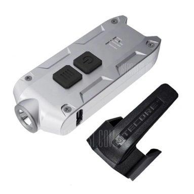 $ 15 với phiếu giảm giá cho Đèn LED Keychain Nitecore TIP CRI - CREE XP-G2 S3 6500K GRAY từ GearBest