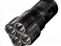 $159 with coupon for Nitecore TM26GT Cree XP L HI V3 3500Lm LED Flashlight  –  BLACK from GearBest