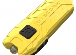 $6 with coupon for Nitecore TUBE USB Mini Flashlight Keychain 2 Modes 45LM from GearBest
