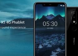 €115 with coupon for Nokia X5 4G Phablet International Version – BLUE from GearBest