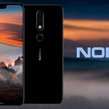 $216 with coupon for NOKIA X6 4GB 32GB Android 8.0 Smartphone from BANGGOOD