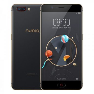 €148 with coupon for Nubia M2 Global ROM 5.5 inch 4GB RAM 128GB ROM from BANGGOOD