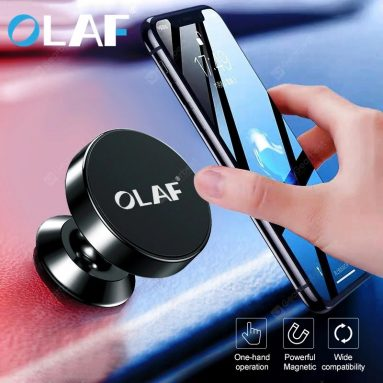 $1 with coupon for OLAF Magnetic Holder Universal Car Holder For Mobile Phone Holder Stand For GPS – Black from GEARBEST