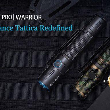 קופון של 130 אירו לכל פנס OLIGHT torcia M2r Pro Warrior + RWX07 + E-WM25 da OLIGHT (15 מסכות בג'ינג'ו)