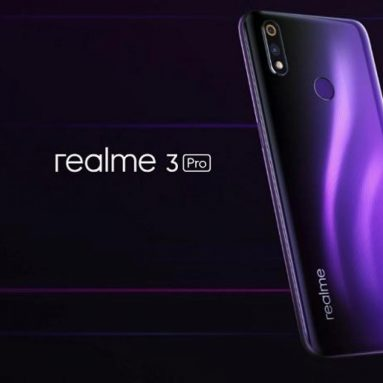 €181 with coupon for OPPO Realme 3 Pro Global Version 6.3 Inch FHD+ Android 9.0 4045mAh 25MP AI Front Camera 4GB RAM 64GB ROM Snapdragon 710 Octa Core 2.2Ghz 4G Smartphone – Lightning Purple from BANGGOOD