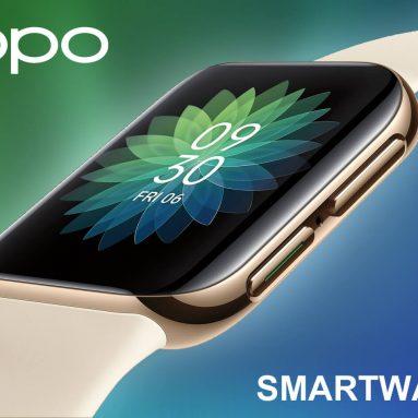 399 € z kuponem na zegarek OPPO 46 mm 326 PPI AMOLED Zakrzywiony wyświetlacz Inteligentny zegarek Zegarek eSIM Szybka ładowarka VOOC 21-dniowy zegarek w gotowości z BANGGOOD