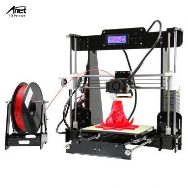 62% OFF Anet A8 Yüksek Hassasiyetli 3D Yazıcı, sınırlı teklif $ 144.99 TOMTOP Technology Co, Ltd