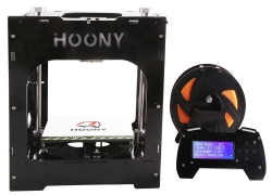 43% OFF HOONY H2 Desktop High Precision 3D Printer,limited offer $184.99 from TOMTOP Technology Co., Ltd